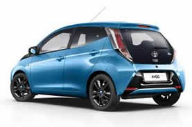 TOYOTA AYGO LONG TERM RENTAL HIREMORECAR